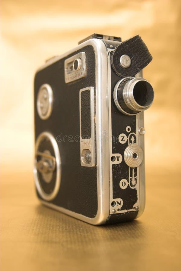 Alte 8mm Film-Kamera lizenzfreie stockfotos