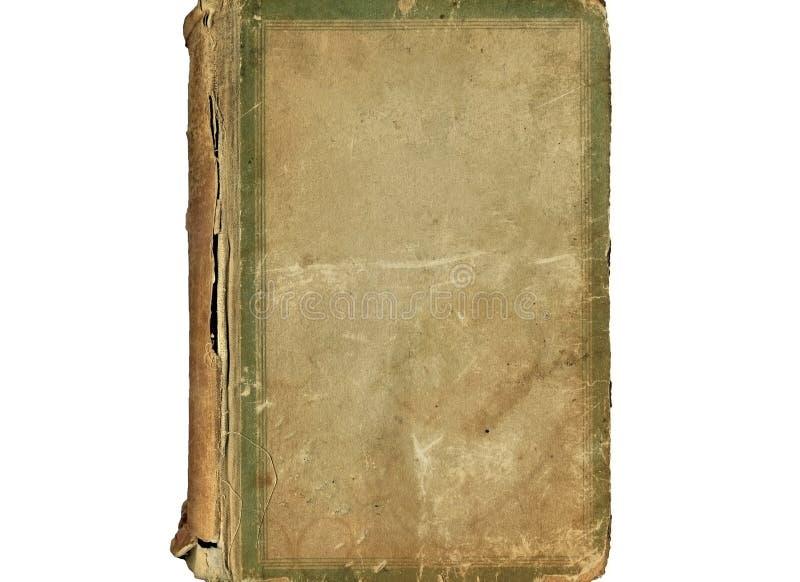 Alte Abdeckung der Weinlese des Buches stockfotos