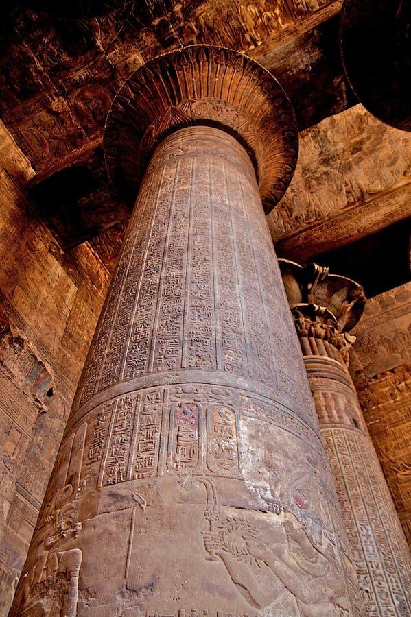 Alte Architektur in Ägypten stockbild