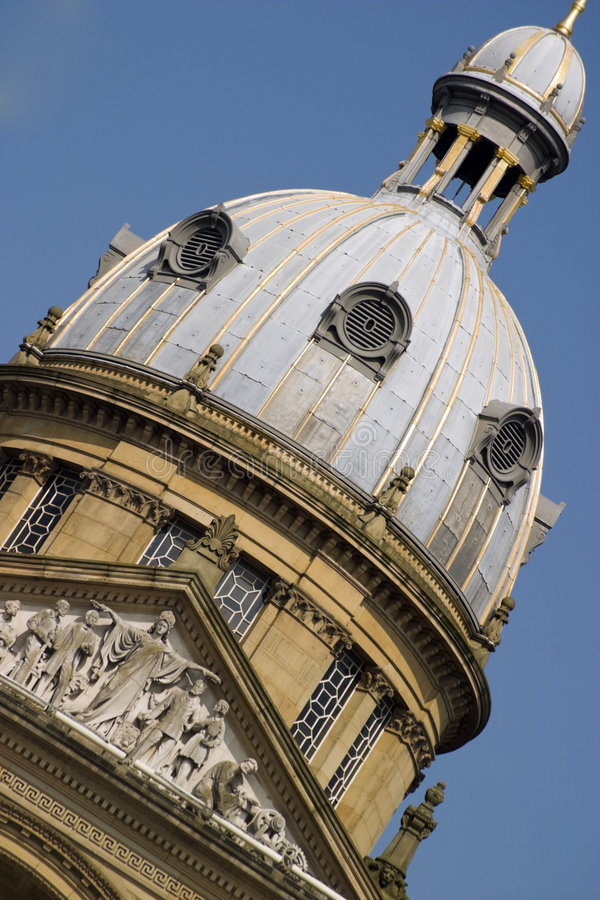Alte Architektur in Birmingham, England lizenzfreies stockbild