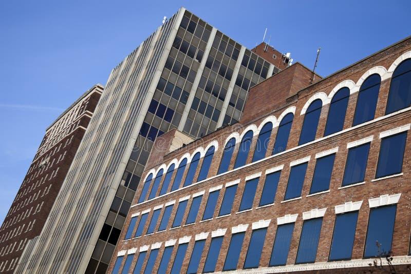 Alte Architektur des Bezirks stockfotos