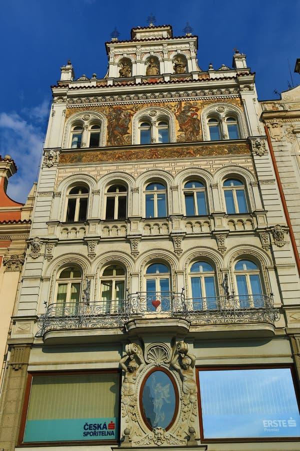 Alte Architektur, Pilsen, Tschechische Republik stockfoto