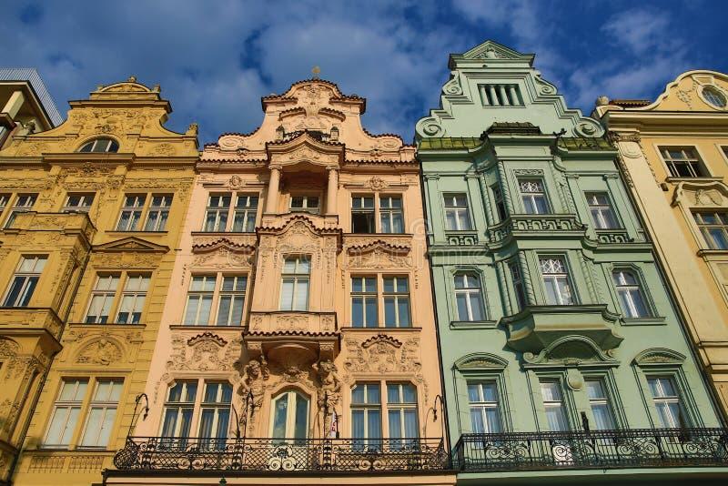Alte Architektur, Pilsen, Tschechische Republik stockfotografie