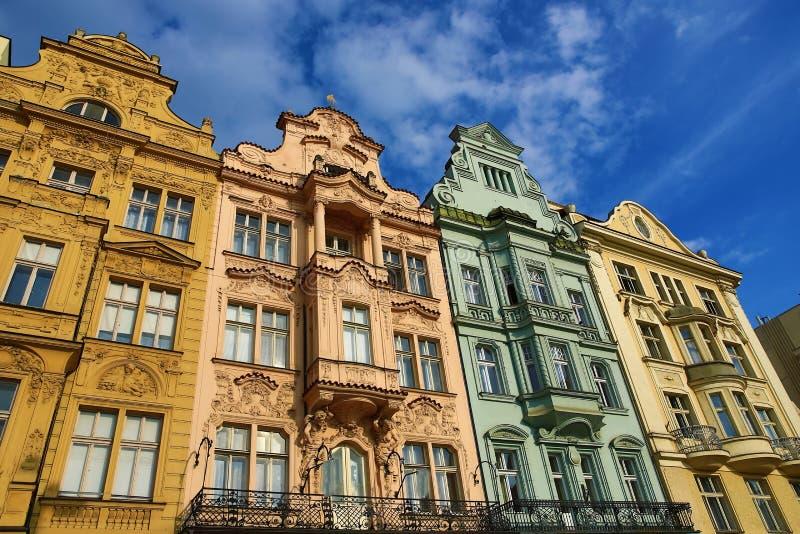 Alte Architektur, Pilsen, Tschechische Republik stockbilder