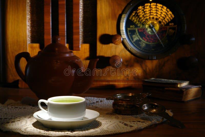 Alte Art-Tee-Zeit lizenzfreie stockfotografie