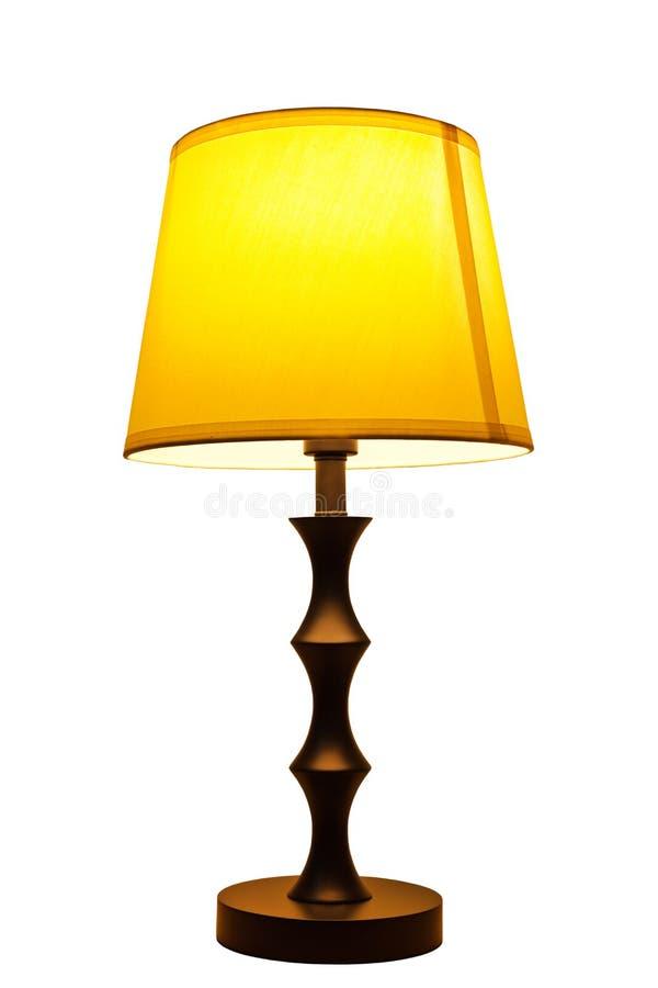 Alte Art und Weisetabellenlampe lizenzfreie stockbilder