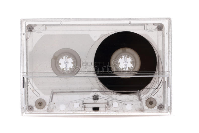 Alte Audiokassette lizenzfreies stockfoto