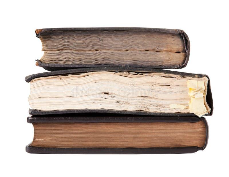 Download Alte Bücher stockfoto. Bild von gestapelt, papier, getrennt - 26373276