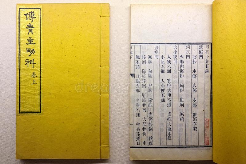 Alte Bücher der Rippenstücke lizenzfreie stockfotografie