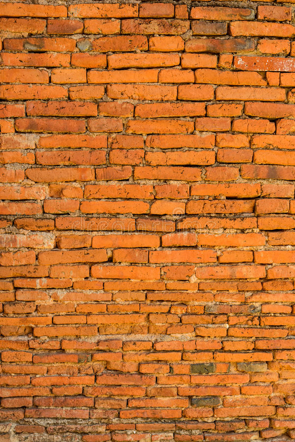 Alte Backsteinmauer in einem Hintergrund stockfotos