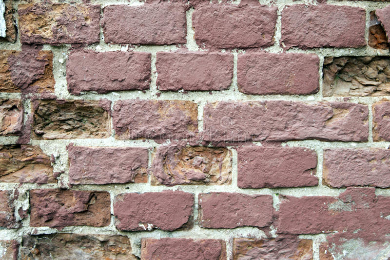 Alte Backsteinmauerbeschaffenheit stockfoto