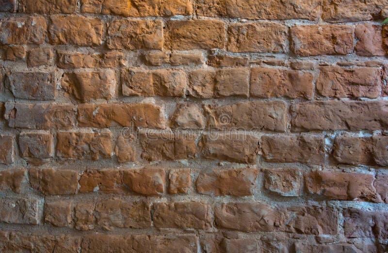 Alte Backsteinmauerfotobeschaffenheit lizenzfreie stockfotografie