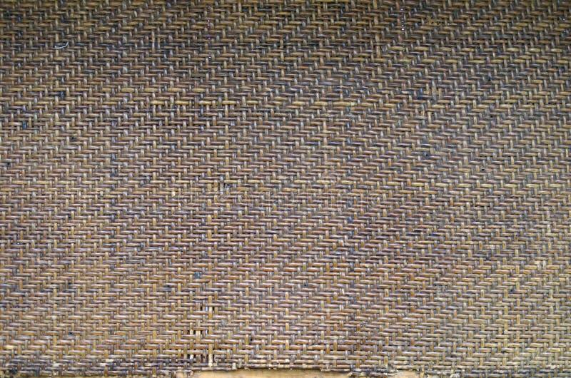 Alte Bambusmattenbeschaffenheit lizenzfreies stockfoto