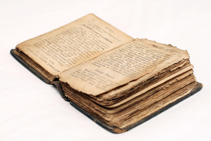 Alte Bibel lizenzfreies stockbild