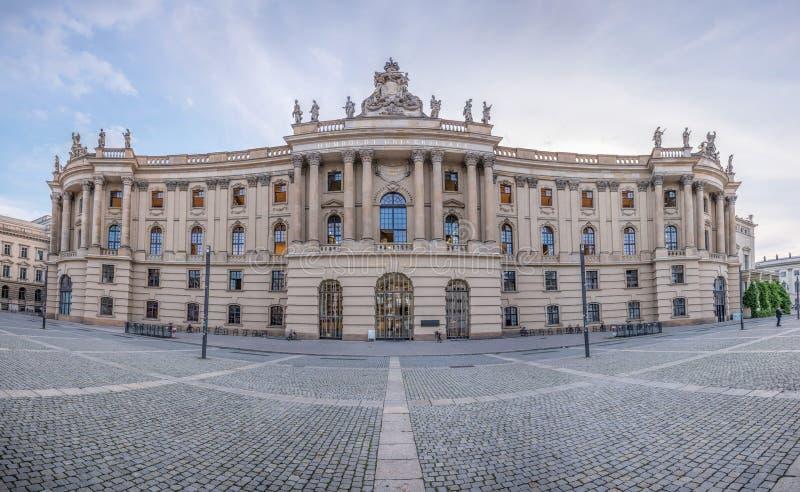 Alte Bibliothek юридического факультета университета Гумбольдта, Bebelplatz, Берлин стоковые фотографии rf