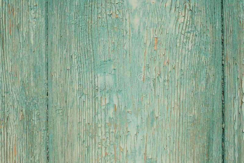 Alte blaue hölzerne Tür stockfotografie