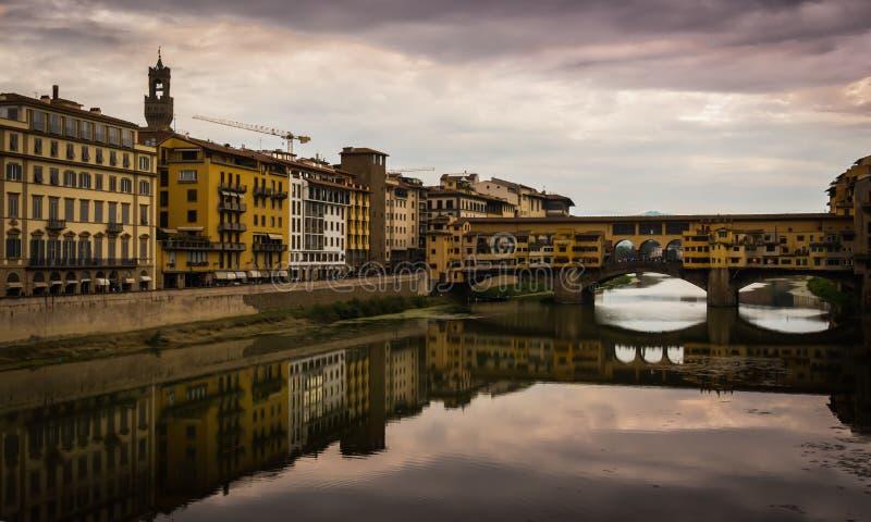 Alte Brücke Florenz stockfotografie