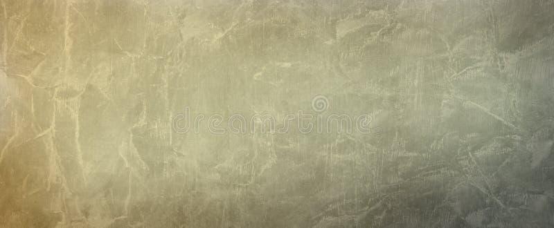 Alte braune beige und graue Papierpergamenthintergrundillustration mit geknittertem abgenutztem Schmutzbeschaffenheitsentwurf stockfotos