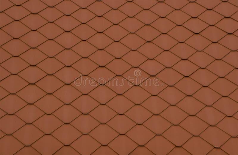 Alte Braune Fliesen Des Hintergrundes Stockbild Bild Von Dach - Rotbraune fliesen