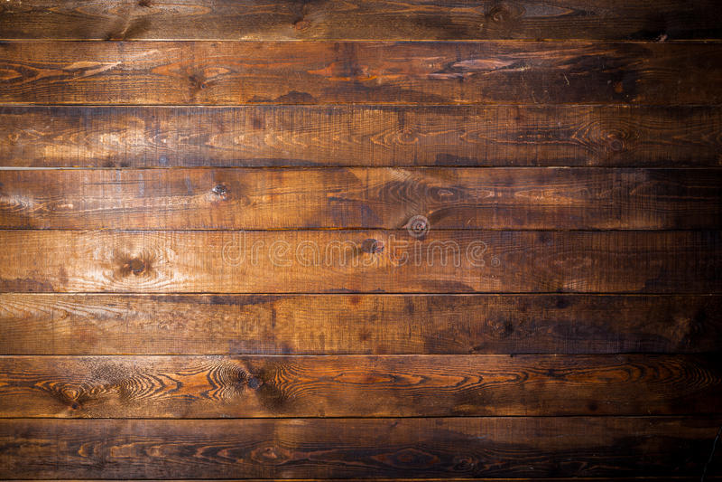 Alte braune hölzerne Wand stockbilder