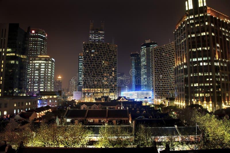 Alte chinesische Haus-Höhen-Anstiege Xintiandi Shanghai stockfoto