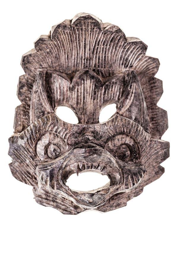 Alte chinesische Maske stockfotos