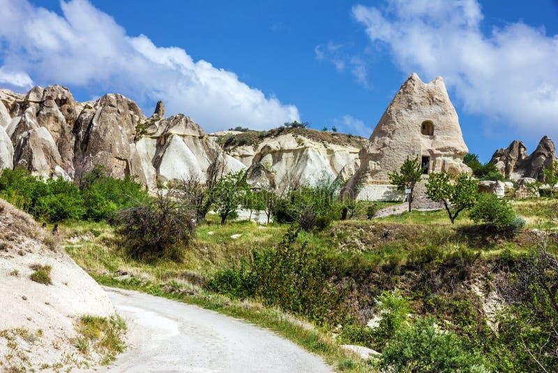 Alte christliche Kirche des Heiligen Nazar in Goreme, Cappadocia, Turke lizenzfreie stockfotografie