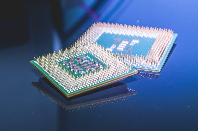 Alte Computerprozessoren, CPU stockfoto