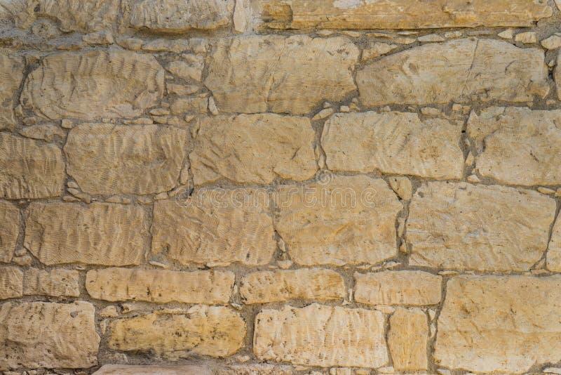 Alte coquina Steinwandbeschaffenheit oder -hintergrund lizenzfreies stockbild