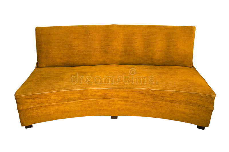 Alte Couch stockfoto