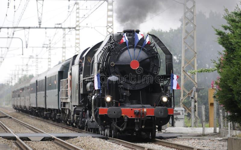 Alte Dampfserie lizenzfreies stockfoto