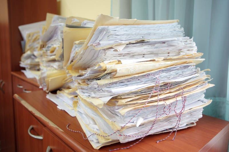 Alte Dokumente lizenzfreies stockbild
