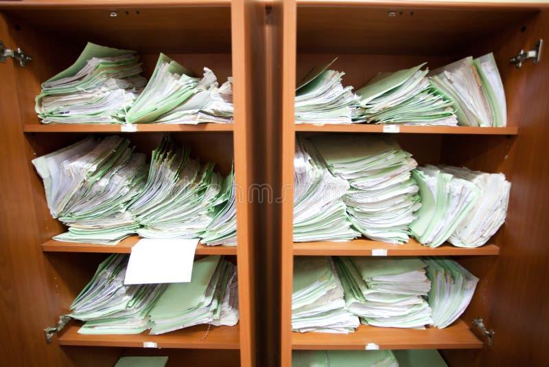 Alte Dokumente stockfotos