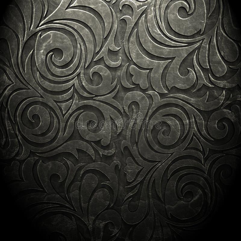 alte dunkle tapete stockfoto bild von hintergrund renaissance 64674708. Black Bedroom Furniture Sets. Home Design Ideas