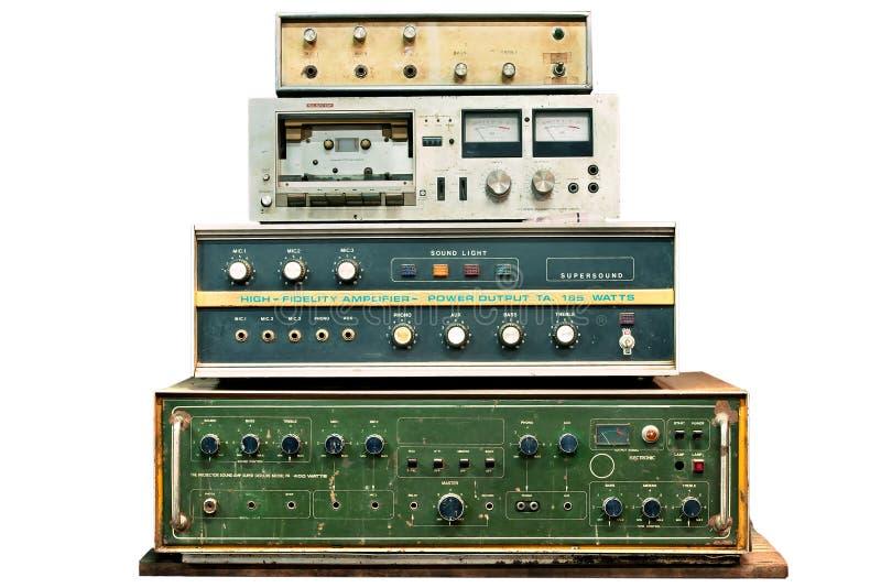 Alte elektronische Steuerung stockfoto