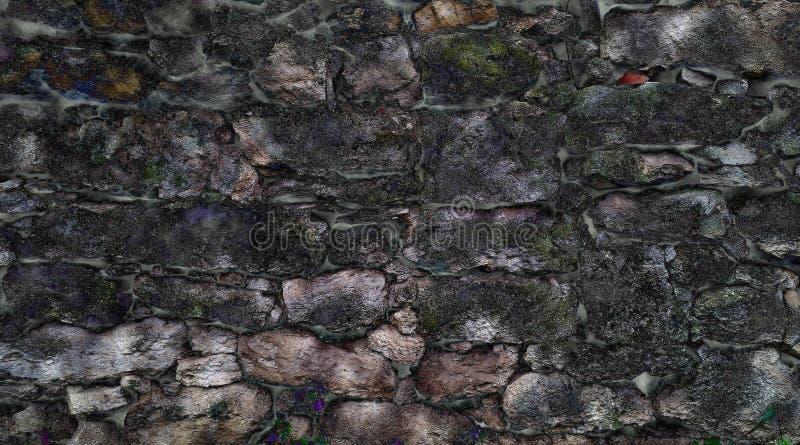 Download Alte Entkernte Maurerarbeit Stockfoto - Bild von form, lehm: 96926896