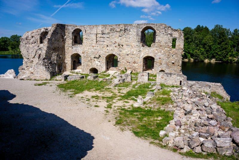 alte errichtende Schlosssteindetails stockfoto