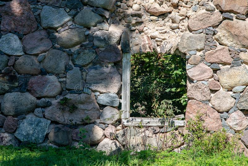 alte errichtende Schlosssteindetails stockbilder