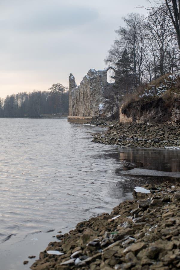 alte errichtende Schlosssteindetails lizenzfreies stockbild