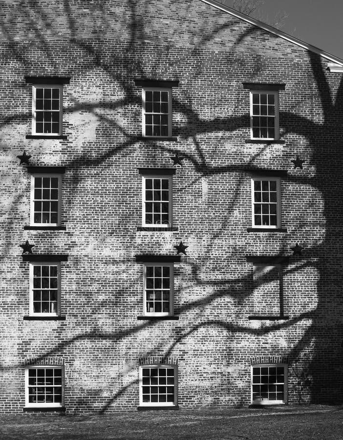 Alte Fabrik Stockbilder