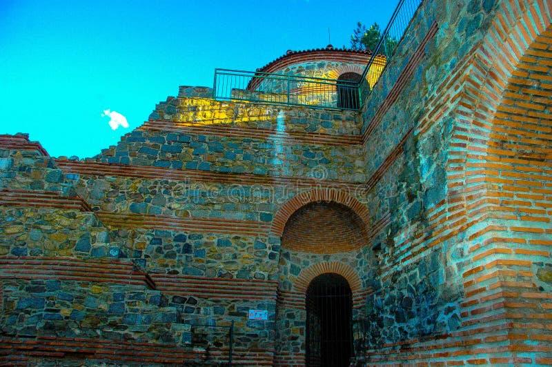 Alte Festung Pautalia stockfotos