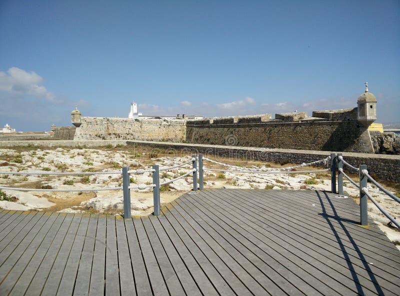 Alte Festung in Portugal lizenzfreies stockfoto