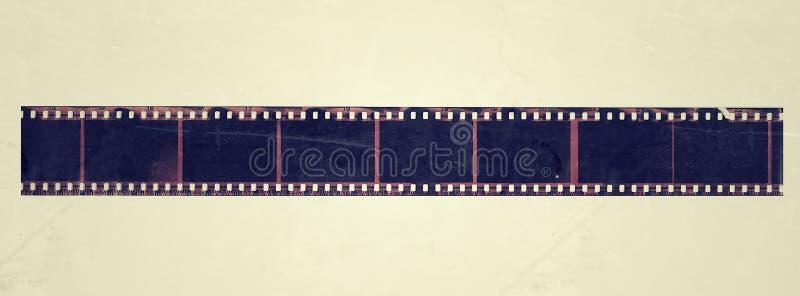 Alte Film-Feldschmutzweinlese lizenzfreie abbildung