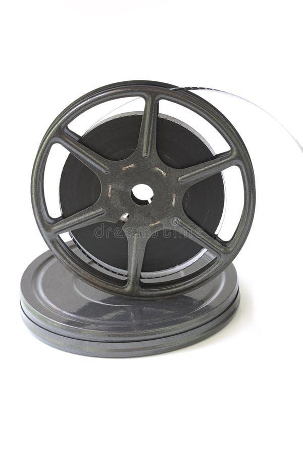 Alte Filmbandspule lizenzfreies stockbild