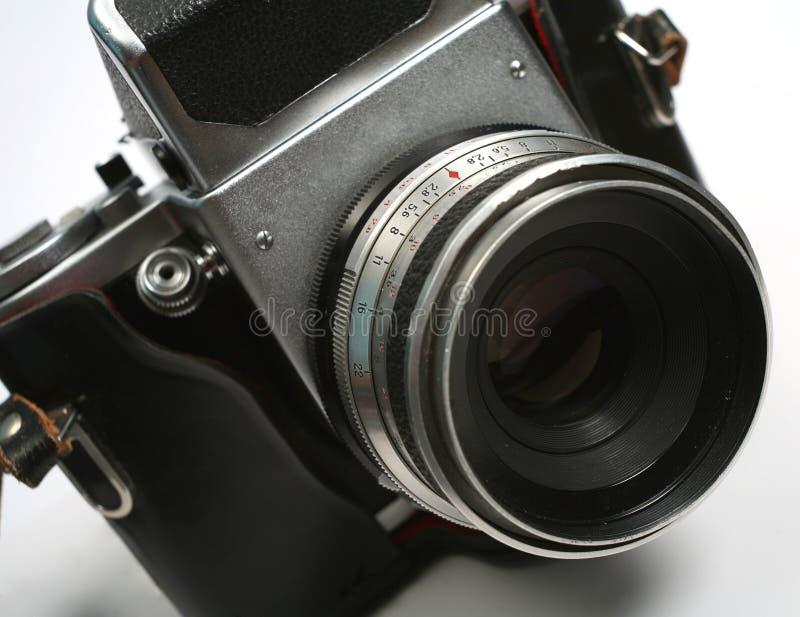 Alte Filmkamera stockbild