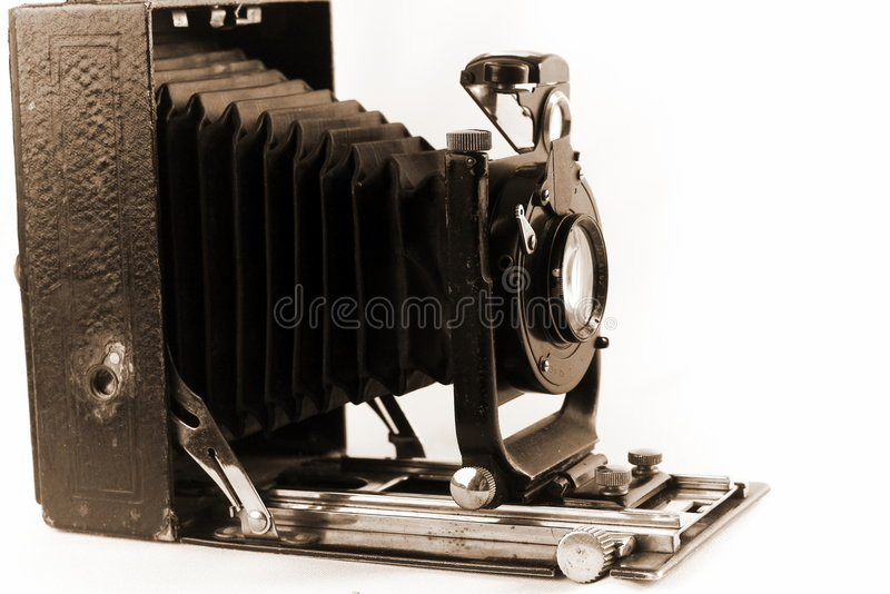 Alte Foto-Kamera lizenzfreies stockbild