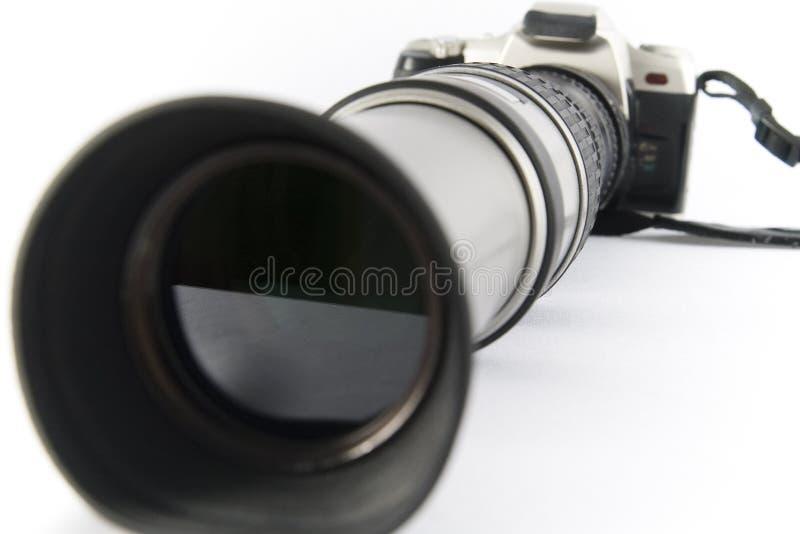 Alte Foto-Kamera lizenzfreie stockbilder