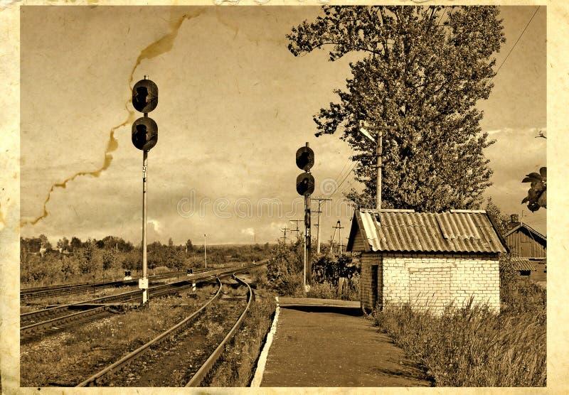 Alte Fotographie lizenzfreie abbildung