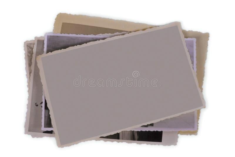 Alte Fotographie - unbelegter Exemplarplatz lizenzfreie stockbilder