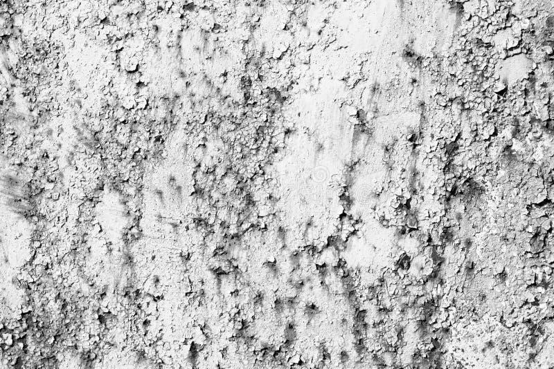 Alte gebrochene Beschaffenheit mit grauem Schmutzhintergrund der Stellen lizenzfreie stockfotografie